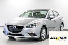 Mazda Mazda3 GX A/C Caméra de recul, bluetooth! 2016