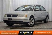 2000 Volkswagen Passat GLX   Cuir   Sieges Chauffants   Toit   2.8L