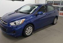 Hyundai Accent 2016 GL, sièges chauffants, bluetooth, régulateur