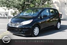 Nissan Versa Note 2016 SV - SPÉCIAL DÉMO - PRIX LIQUIDATION !!!