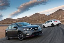 Four new Nissan models unveiled in November, including new 2017 Sentra Nismo
