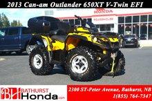 2013 Can-Am Outlander 650 XT