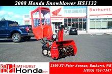 2008 Honda Power Equipment HSS1132CT Snowblower