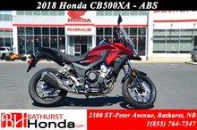 2018 Honda CB500XA ABS