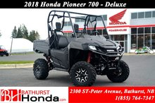 2018 Honda Pioneer700 Deluxe