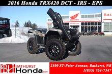 2016 Honda TRX420 DCT IRS EPS