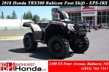 2018 Honda TRX500 Rubicon IRS EPS