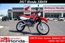 2017 Honda XR650L