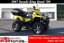 2007 Suzuki King quad 700