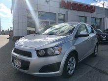 2013 Chevrolet Sonic LS   $76 BI WEEKLY
