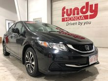 2013 Honda Civic Sdn EX w/sunroof, alloy, backup cam, $138.08 B/W