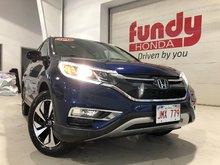 2016 Honda CR-V Touring w/leather, power seat, navi