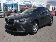 Mazda CX-3 GX, AWD, BLUETOOTH, CAMERA, A/C, RÉGULATEUR 2016