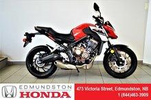 2018 Honda CBR650FA