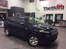 Jeep Cherokee SPORT/V6/4X4/*96$SEM.*HITCH 4500LB/BAS KILOMÉTRAGE 2016