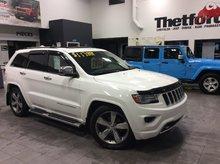 Jeep Grand Cherokee OVERLAND V6 /TOUT ÉQUIPÉ/**117$ SEM. 0$COMPTANT** 2014