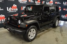 Jeep Wrangler Unlimited SPORT UNLIMITED TOIT RIGIDE BAS KILOMÉTRAGE 2012