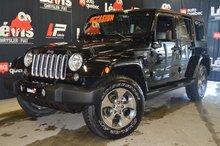 Jeep Wrangler Unlimited SAHARA GPS TOIT RIGIDE GPS 2018