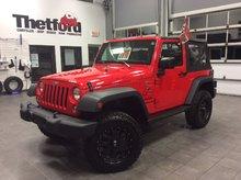 Jeep Wrangler SPORT/BAS MILLAGE/99$ SEM.TOUT INCLUS 2016