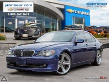 2007 BMW 7 Series IAS TRADED SPECIAL