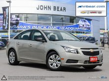 2013 Chevrolet Cruze LS RATES AS LOW AS 0% FOR 24 MONTHS