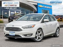 2016 Ford Focus Titanium LEATHER HEATED SEATS  TOP OF THE LINE