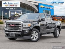 2017 GMC Canyon SLE  CREW CAB ONE OWNER