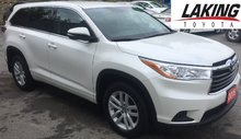 2016 Toyota Highlander LE 3rd Row Seating