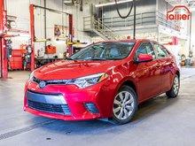 Toyota Corolla ****LE+AUTOMATIQUE+A/C+JAMAIS ACCIDENTÉ+BLUETOOTH* 2016