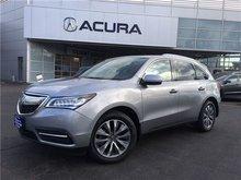 2016 Acura MDX NAVI   OFFLEASE   2.9%   RAILS   AWD   NEWTIRES