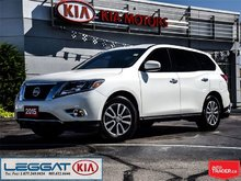 2015 Nissan Pathfinder S - 3rd Row, 18 Alloys, Heated Seats, LOW KM