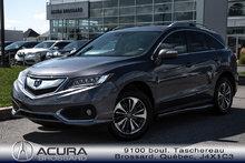 2018 Acura RDX ELITE PKG Garantie prolongé jusqu'à 130000km
