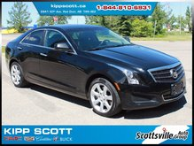 2013 Cadillac ATS 2.0T, Leather, Sunroof, 1 Owner, Heated Seats