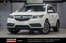 2015 Acura MDX NAVIGATION SH-AWD; CUIR TOIT GPS  ANGLES MORTS