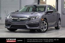 2018 Honda Civic Sedan LX; AUTO CAMERA SIEGES CHAUFFANT CARPLAY / ANDROID