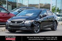 2014 Honda Civic EX MANUELLE TRES BAS KM