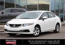 2015 Honda Civic LX MANUAL BAS KM
