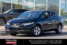 2015 Honda Civic LX AUTO TRÈS BAS KM