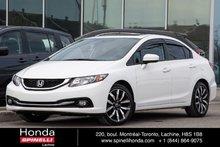 2015 Honda Civic Touring CUIR NAVI TOIT