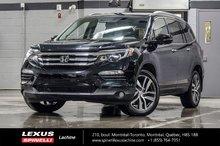 2016 Honda Pilot TOURING AWD; 7 PASS CUIR GPS TOIT PANO AUDIO DVD