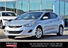 2011 Hyundai Elantra GL MANUELLE AC CRUISE