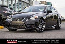 2016 Lexus IS 300 **F-SPORT 3 AWD**