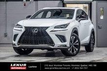 2018 Lexus NX 300 F SPORT I AWD; CUIR TOIT LSS+