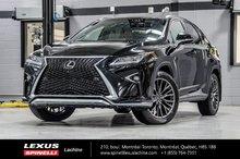2017 Lexus RX 350 F SPORT III AWD; TOIT / CAMERA PANO GPS AUDIO LSS+