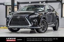 2018 Lexus RX 350 F SPORT III AWD; CUIR AUDIO TOIT PANO GPS LSS+