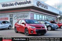 2014 Toyota Corolla S PKG TOIT
