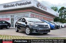 2015 Toyota Corolla LE PKG SUPER PRIX!!!!!