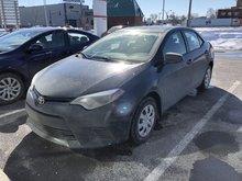 2015 Toyota Corolla CE  UN PROPRIÉTAIRE