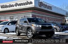 2015 Toyota Highlander XLE + GPS!!!!!!