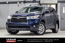 2016 Toyota Highlander XLE AWD; 8 PASS CUIR TOIT GPS CAMERA